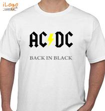 AC DC AC-DC-Music-Back-In-Black T-Shirt