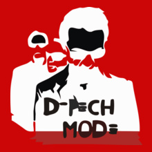Depeche Mode Depeche-Mode-Cover T-Shirt