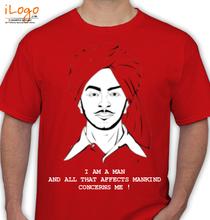 Bhagat Singh bhagat-genre T-Shirt