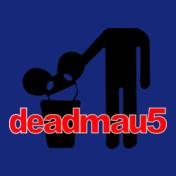 Deadmau-Head-on-Trash-Men-T-Shirt