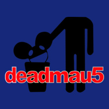 Deadmau-Head-on-Trash-Men-T-Shirt T-Shirt