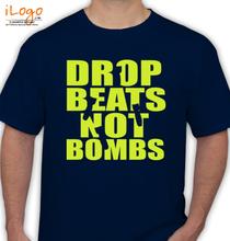 Deadmau5 Drop-Beats-Not-Bombs-Fresh-Rags-Fres T-Shirt