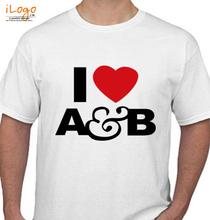 Above & Beyond i-heart-ab-white-t-shirt-mens T-Shirt