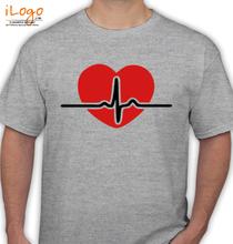 Heartbeat HEARTBEAT-RED T-Shirt