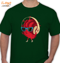 Heartbeat HEARTBEAT-DJ T-Shirt