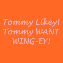 TOMMY-TRASH-wing-ey T-Shirt
