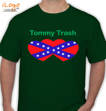Tommy Trash TOMMY-TRASH-star T-Shirt