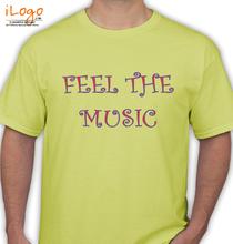 DJ Feel dj-feel-the-music T-Shirt