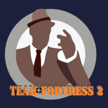 Team Fortress 2 team-fortress- T-Shirt