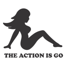 Fu-Manchu-THE-ACTION-IS-GO T-Shirt