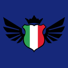 Brazil football World Cup Italy-soccer-emblem-flag-T-shirt T-Shirt