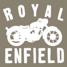 Biker ROYAL-ENFIELD- T-Shirt