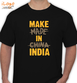make in india - T-Shirt