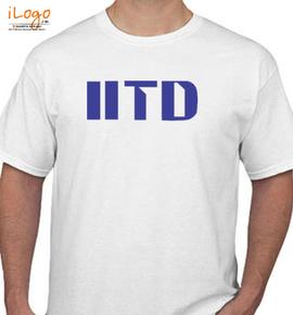 iitd logo  - T-Shirt