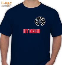 IIT Delhi IIT-DELHI-TEXT T-Shirt