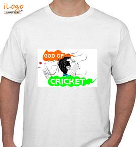 GodOfCricket - T-Shirt