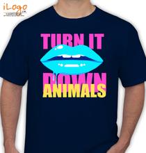 Martin Garrin TURN-IT-DOWN-ANIMALS T-Shirt