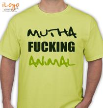 Martin Garrin MUTHA-FUCKING-ANIMAL T-Shirt
