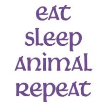 EAT-SLEEP-ANIMAL-REPEAT T-Shirt