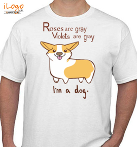 roses gray violets are gray - T-Shirt