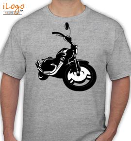 HARLEY DEVIDSON BIKE - T-Shirt