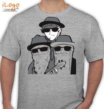 ZZ Top ZZ-Top-by-villafanart-on T-Shirt
