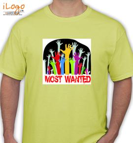 MostWanted - T-Shirt