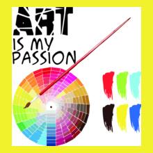 CRACKING DESIGNS ArtIsMyPassion T-Shirt