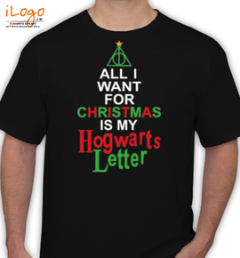 christmas howarts letter - T-Shirt