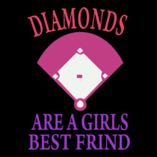 diamonds-are-a-girls-best-friend T-Shirt