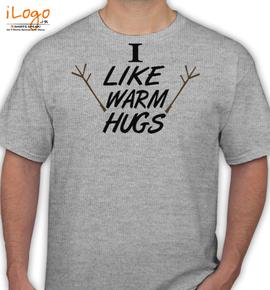I Like Warm Hugs - T-Shirt