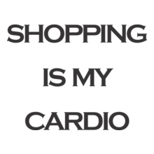 America-%Band%-shoping-is-my-cardio T-Shirt