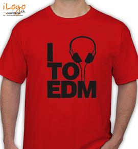 i to edm - T-Shirt