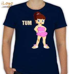 c975e5332866a7 HUM-TUM4 Personalized Women's Cotton T-Shirt at Best Price [Editable ...