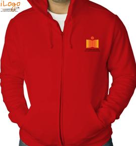 IIT Hyderabad Zipper Hoody - perziphood