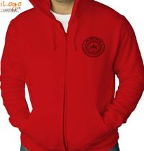 IIT Kanpur IIT-Kanpur-Zipper-Hoodies T-Shirt