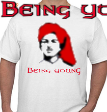 Bhagat Singh Bhagat-Tshirt T-Shirt