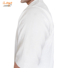 Bhagat-Tshirt Left sleeve