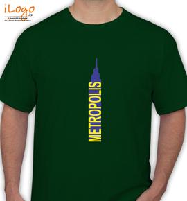 metropolis  - T-Shirt