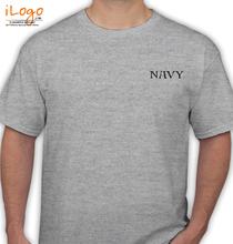 Navy-Gray T-Shirt