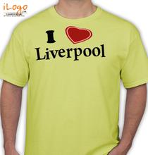 Liverpool I-LOVE-LIVERPOOL T-Shirt