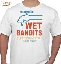 Laughing out Loud wet-bandits-plumbing-service-%vintage% T-Shirt