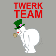 Laughing out Loud twerk-team T-Shirt