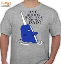 Laughing out Loud mr.narwhal T-Shirt