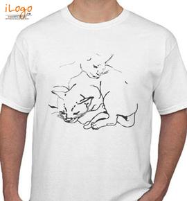 Girl Talk %Music% CAT - T-Shirt
