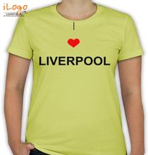 Liverpool LOVE-LIVERPOOL T-Shirt