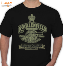 Biker royal-enfield T-Shirt