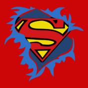 t-shirt-femme-superman-torn-logo