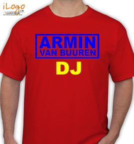 Armin-Van-Buuren-dj - T-Shirt