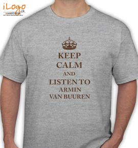 Armin Van Buuren keep calm - T-Shirt
